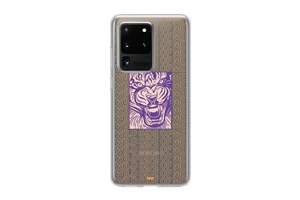 A51 Wild Side Of Me Written Tiger Phone Case
