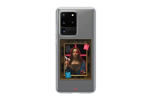 A7 2020 the graffiti art Salvator Mundi Art Telefon Kılıfı