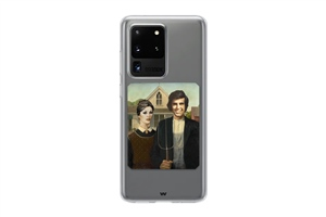 A71 Yesilcam Farmer Couple Gothic Phone Case