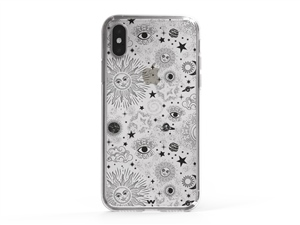 iPhone XS Vintage Sky Phone Case