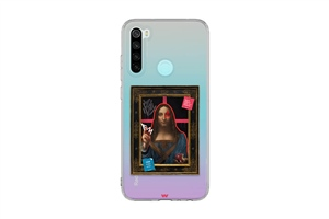 Redmi Note 8 the graffiti art Salvator Mundi Art Telefon Kılıfı