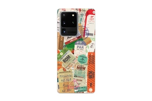 S20 Ultra Travel Suitcase Phone Case